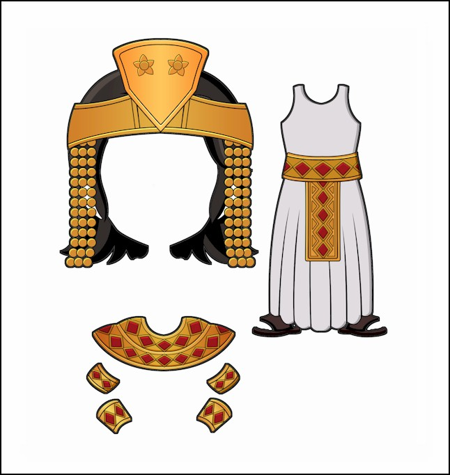 World Thinking Day Traditional Egypt Clothing
