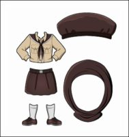 Egypt Girl Guide Uniform for Thinking Day