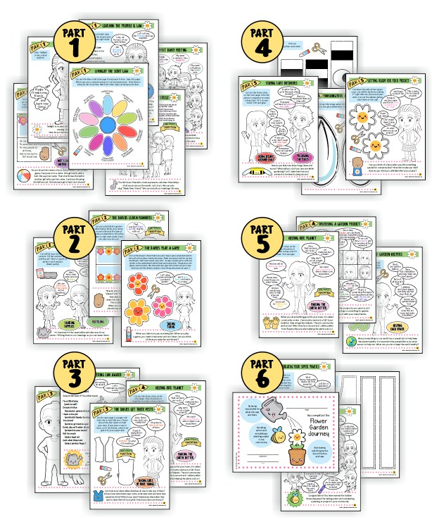 "Superhero Flower Garden Adventure Download. With the Superhero Flower Garden Adventure Download from MakingFriends®.com, your troop will complete their ""Welcome to the Daisy Flower Garden"" JOURNEY* and all ten petals in six fun, easy meetings you and your girls will love. via @gsleader411"