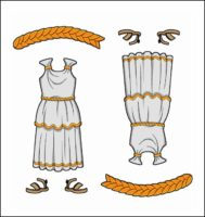 World Thinking Day Traditional Greece Clothing