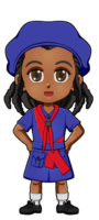 Kenya Girl Guide Uniform for Thinking Day