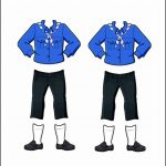 Superhero Paper Dolls | Willow Russia Girl Guide Uniform