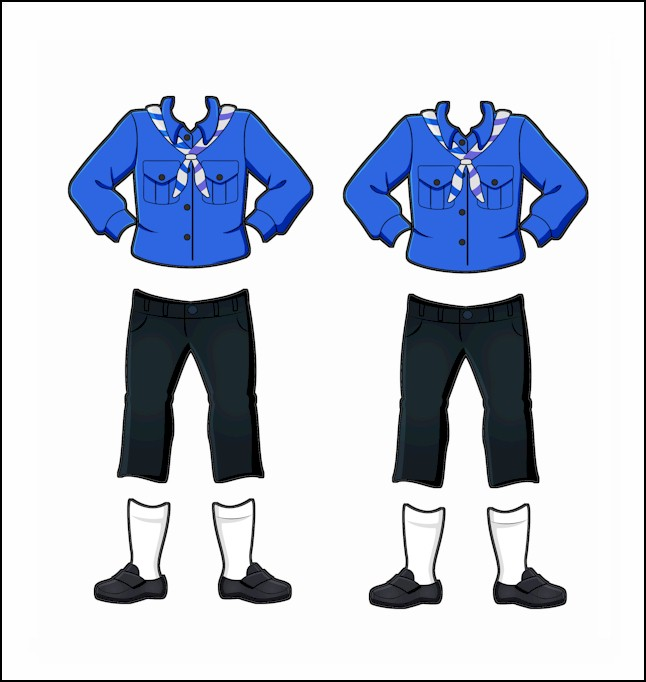 Russia Girl Guide Uniform for Thinking Day