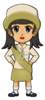 South Korea Girl Guide Uniform for Thinking Day