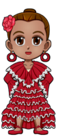 World Thinking Day Traditional Spain Clothing