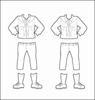 Switzerland Girl Guide Uniform for Thinking Day