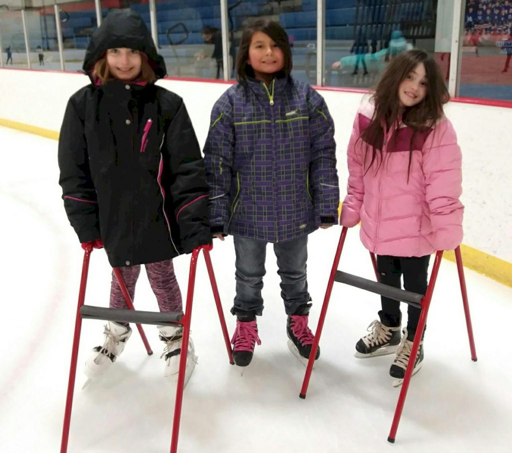 Girl Scouts Ice Skating