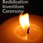 investiture and rededication candle