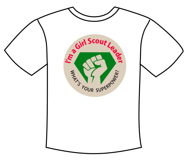 Girl Scout Leader Tee Shirt Transfer