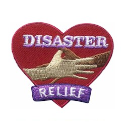 Disaster Relief Patch. 