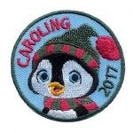 Caroling Girl Scout Patch