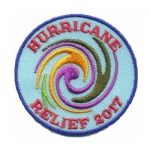 Girl Scout Hurricane Relief 2017 Patch