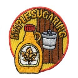Maple Sugaring Girl Scout Patch