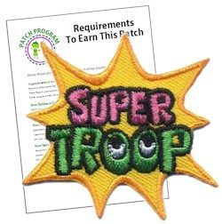 Super Troop Patch