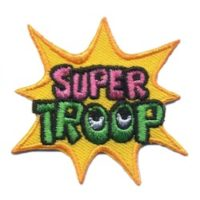 Girl Scout Super Troop Patch