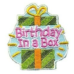 Birthday In a Box Fun Patch