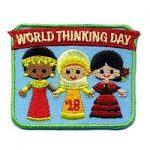 World Thinking Day 2018 Fun Patch
