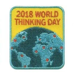2018 World Thinking Day Girl Scout Patch