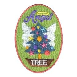 Angle Tree Girl Scout Patch
