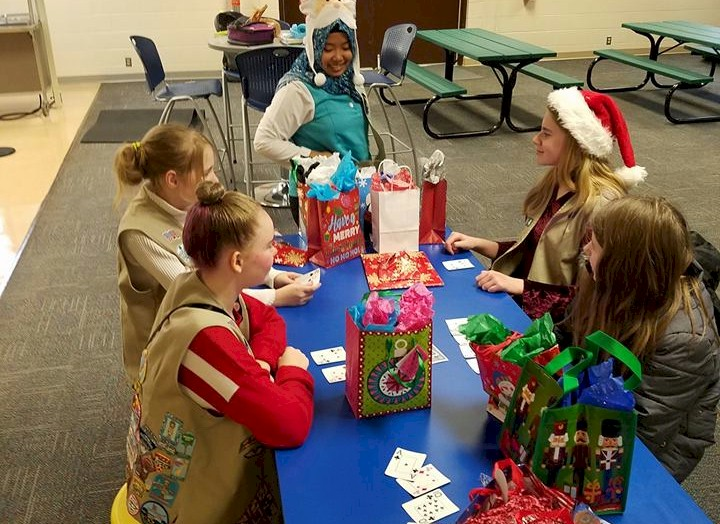 Cadette Girl Scout Gift Exchange