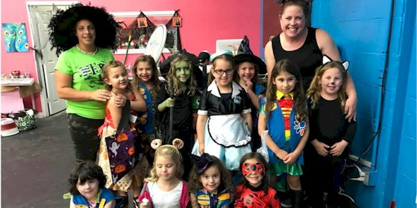 Girl Scout Halloween Carnival