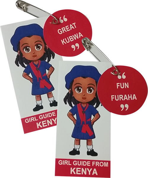 Kenya Girl Scout SWAP