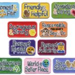 Emoji Girl Scout Law Fun Patches