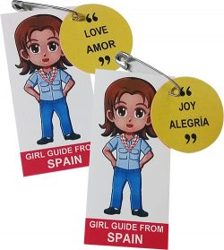 Spain Girl Scout SWAP Kit