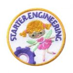 Starter Engineering Girl Scout Fun Patch