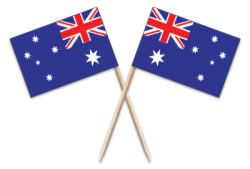 Australia Toothpick Flags