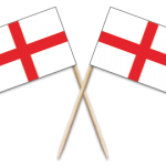 England Toothpick Flags