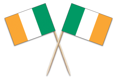 Ireland Toothpick Flags