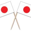 Japan Toothpick Flags