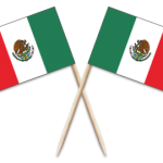 Mexico Toothpick Flags