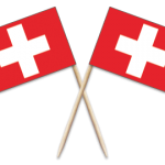 Switzerland Toothpick Flags