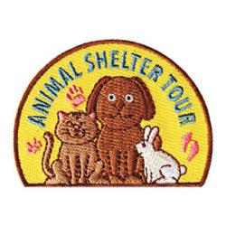 Animal Shelter Tour Fun Patch