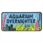 Aquarium Overnighter Girl Scout Fun Patch