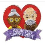 Assisted Living Visit Girl Scout Fun Patch