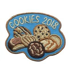 2018 Girl Scout Cookies Fun Patch