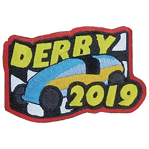 Derby 2019 Patch on sale while supplies last. When your car race event is over, your girls will love this colorful Derby 2019 patch from MakingFriends®.com! You can get ideas and tips for your derby in our blog Special Guy and Girls Derby Planning. Limited supply. On clearance while supplies last. via @gsleader411