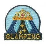 Girl Scout Glamping Fun Patch