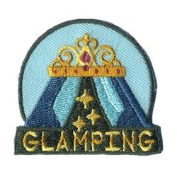 Girl Scout Glamping Fun Patch