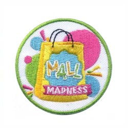 Girl Scout Mall Madness Fun Patch