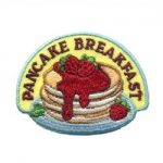 Girl Scout Pancake Breakfast Fun Patch