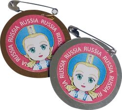 Russia Girl Scout Thinking Day SWAPs