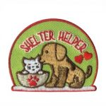 Shelter Helper Girl Scout Fun Patch