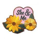 Girl Scout She & Me Fun Patch