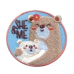 Girl Scout She & Me Fun Patch