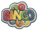 Bingo Girl Scout Patch