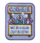 Bling our Cookie Booth Patch